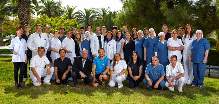 Сотрудники реабилитационного центра Nobel