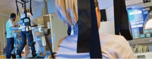 Аппарат Локомат в клинике Эвексия