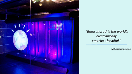 Watson for oncology at Bumrungrad International