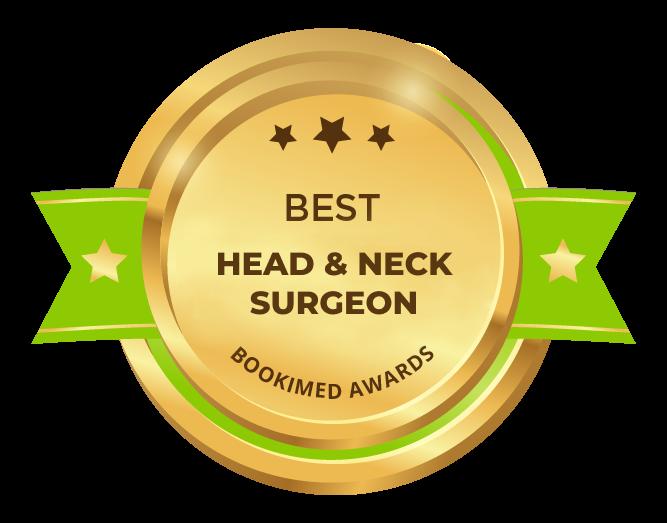 Bookimed Awards 2018: Best head & neck surgeon