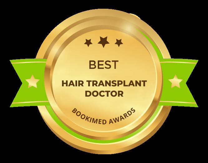 Bookimed Awards 2018: Best hair transplant doctor