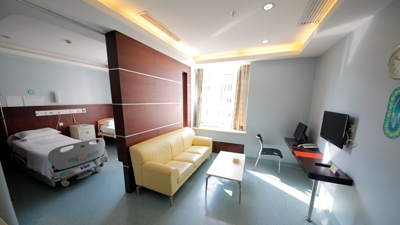 A hospital ward at Fuda
