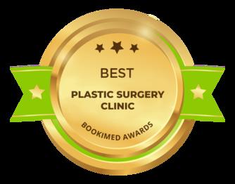 Награда от Bookimed - Лучшая клиника пластической хирургии