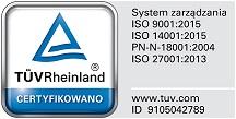 Фото сертификата ISO