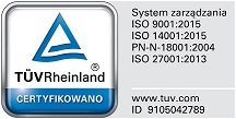 ISO certificate image