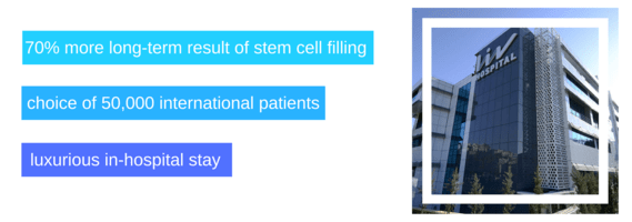 Orthopedic therapy with stem cells in Liv Hospital