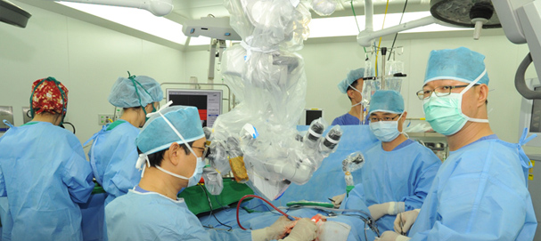 Neurosurgery in Gangnam Severance Hospital