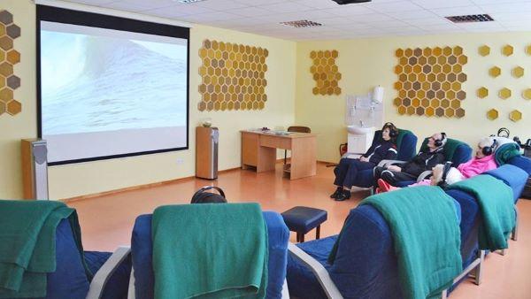 Видеотерапия в клинике Абромишкес