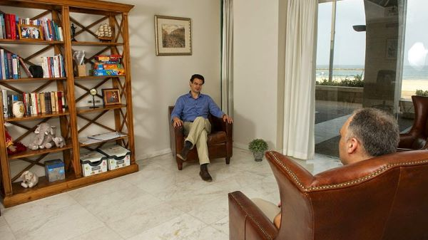 Сеанс психотерапии в клинике Мацпен