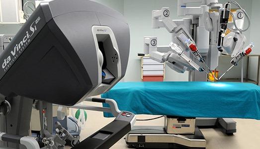 Робот-хирург в клинике Анадолу