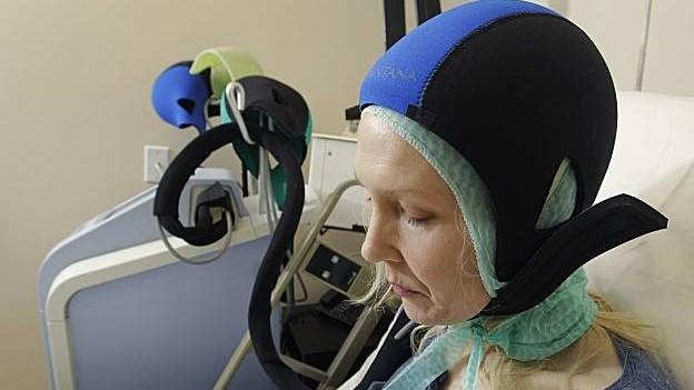 Охлаждающая шапочка при химиотерапии в клинике Лив Хоспитал