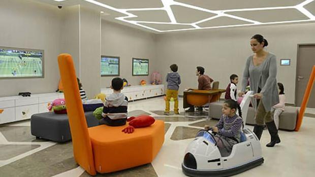 Детская зона в Лив Хоспитал