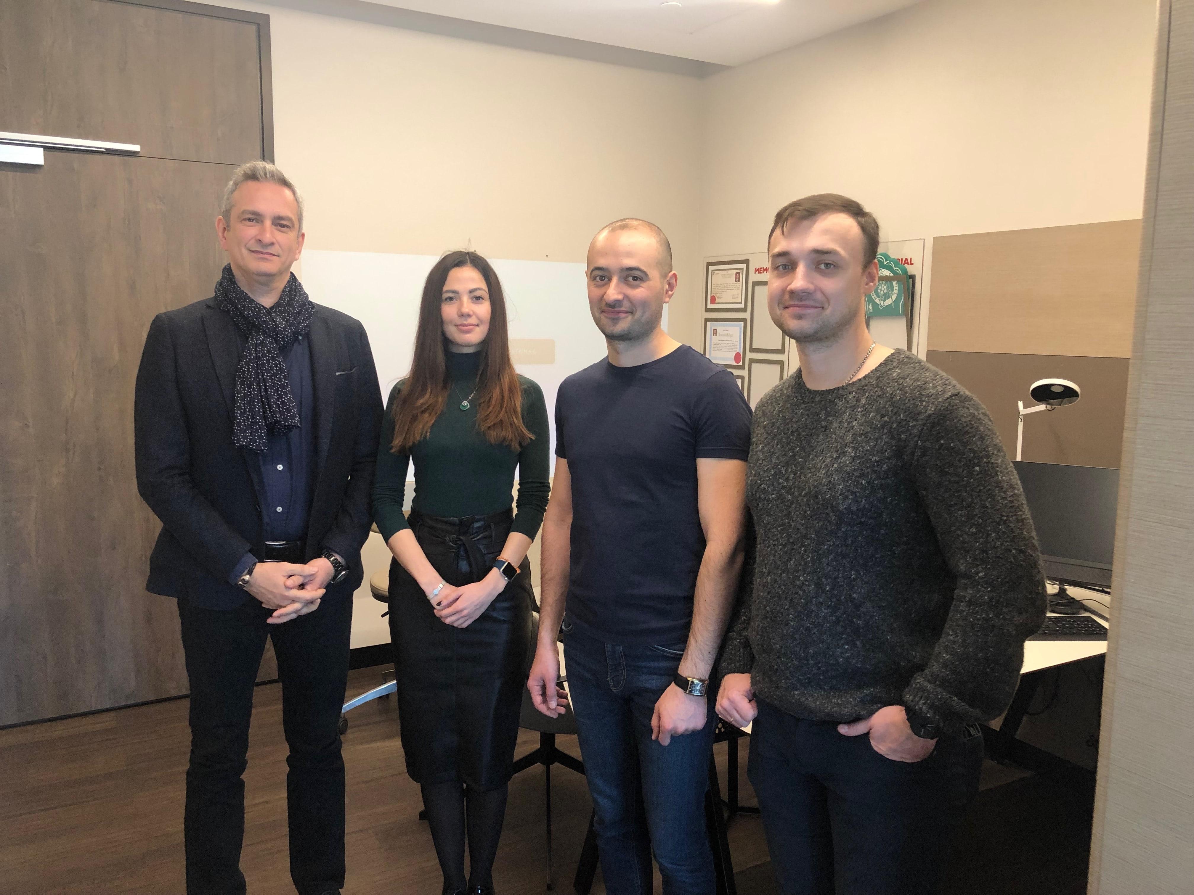 Bookimed team with Murat Çağ