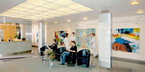 Приемное отделение клиники Шлосспарк