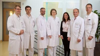 Команда ортопедичекого отделения клиники Шлосспарк
