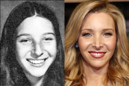 Лиза Кудроу до и после ринопластики