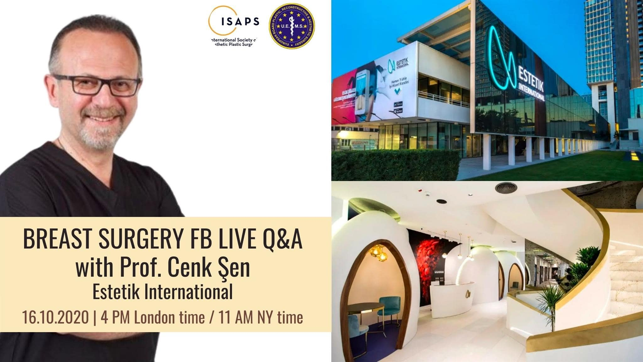 Live Q&A with Prof. Cenk Şen